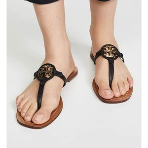 New Tory Burch  Mini Miller Leather Sandal